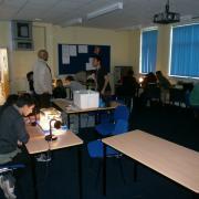 Cloud chamber making workshop